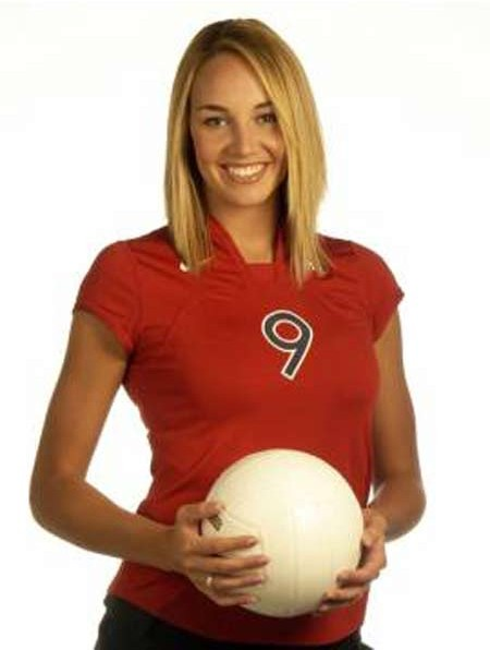 American Former Volleyball Player Bre Ladd