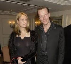 Iain Glen with his ex-wife Susannah Harker