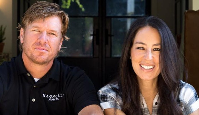 Joanna Gaines with Husband Chip Gaines