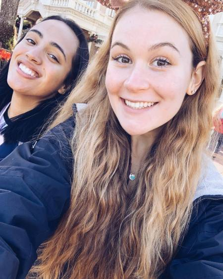 Simone Alexandra Johnson with Half Sister