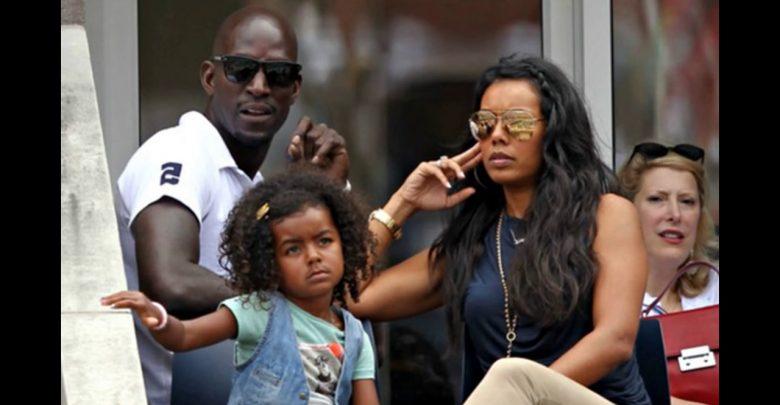 Brandi Padilla with husband Kevin Garnett and Childrens