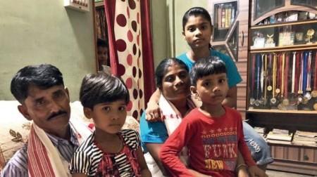 Hima-Das-family