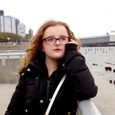 Milly Shapiro Gesicht