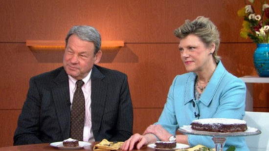 Cokie Roberts with Husband Steven V. Roberts