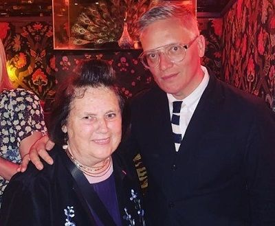 Giles-Deacon with Mother