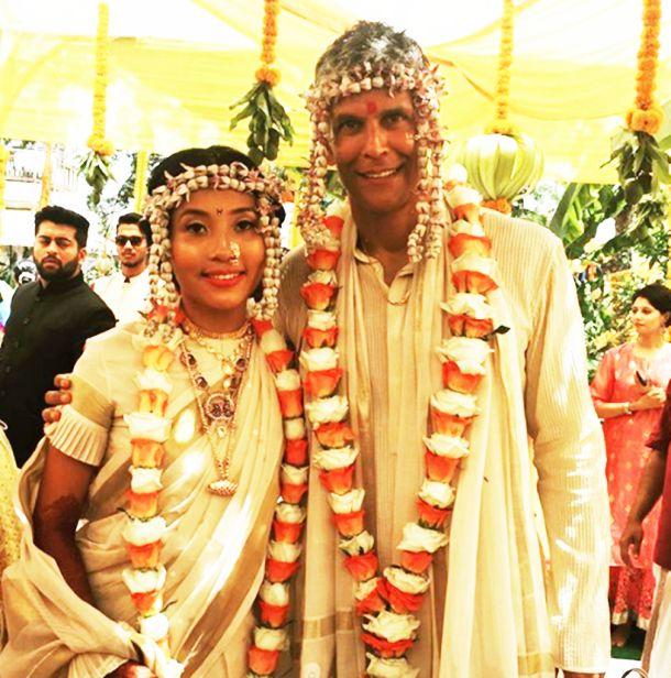 Milind-Soman-and-Ankita-Konwar-marriage-pic