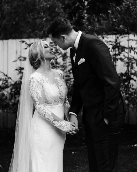 Carli Miles Skaggs wedding