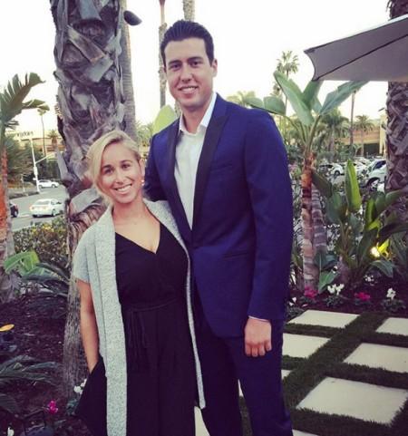 Carli Miles Skaggs with Husband Tayler Skaggs