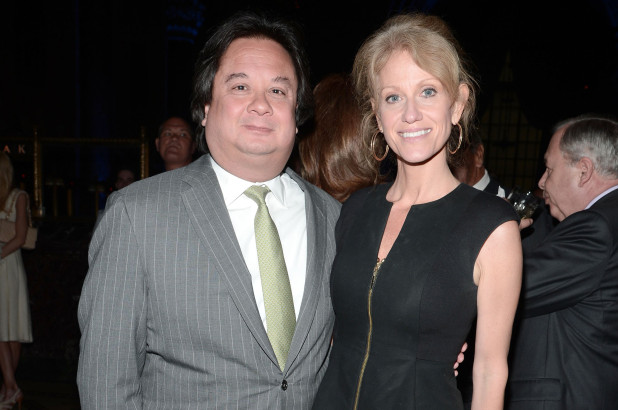 Kellyanne Conway with Husband George T Conway.
