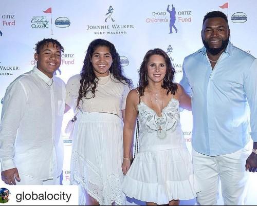 Tiffany Ortiz With Husband David Ortiz and Children's