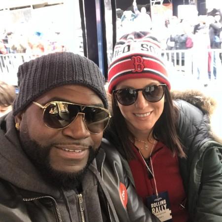 Tiffany Ortiz With Husband David Ortiz