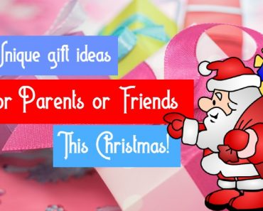 Unique gift ideas for Parents or Friends this Christmas!