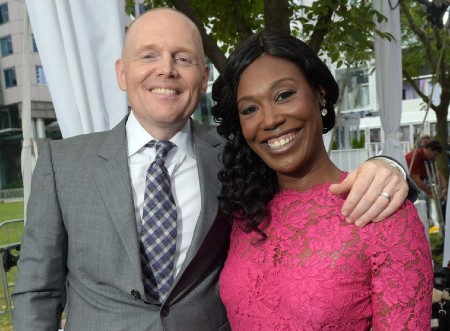 Bill Burr With wife nia-renee-hill
