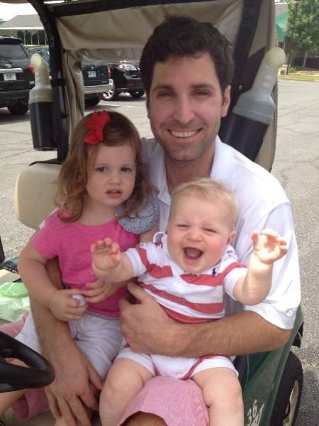 Bryan Chatfield Sanders with Children