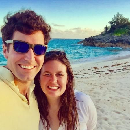 Bryan Chatfield Sanders with wife Sarah Huckabee Sanders