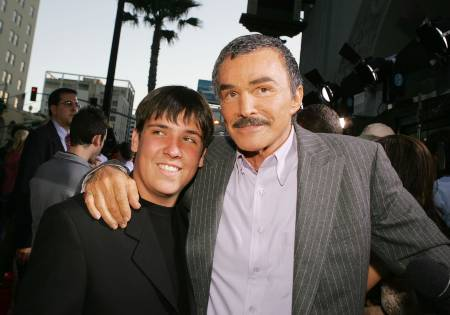 Quinton-Anderson-Reynolds with Father Burt Reynolds