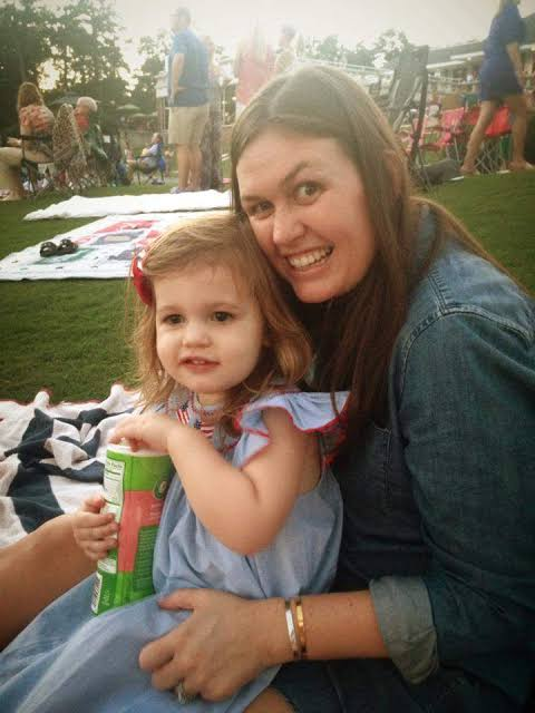 Scarlett Wiles Sanders with Mother