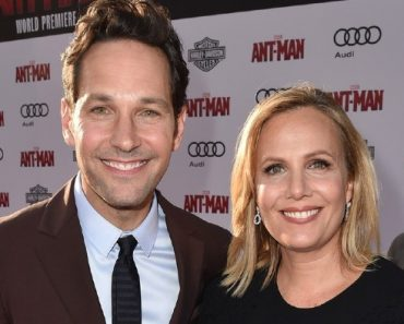 Julie Yaeger with Husband Paul Rudd
