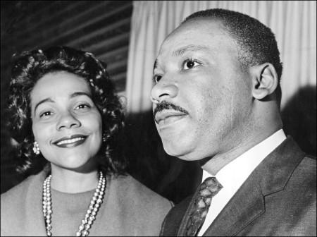 Martin Luther King Jr wife Coretta Scott