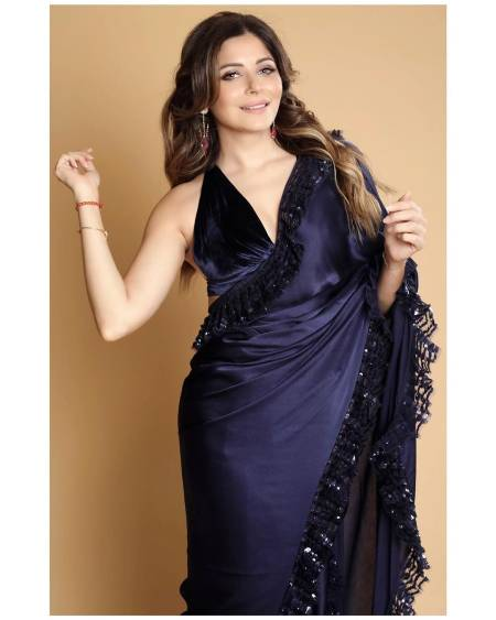 KANIKA KAPOOR in Saree