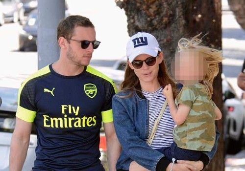 Kate Mara With Husband and Child