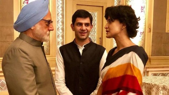 Aahana Kumra in The Accidental Prime Minister