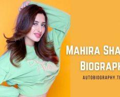 Mahira Sharma Biography