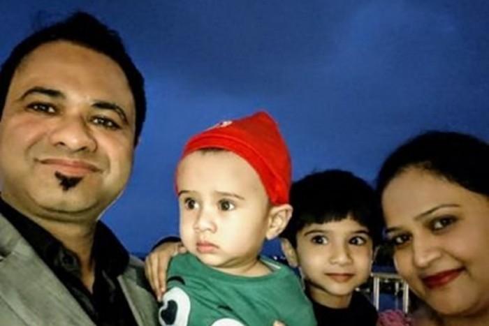 Dr Kafeel Khan Family