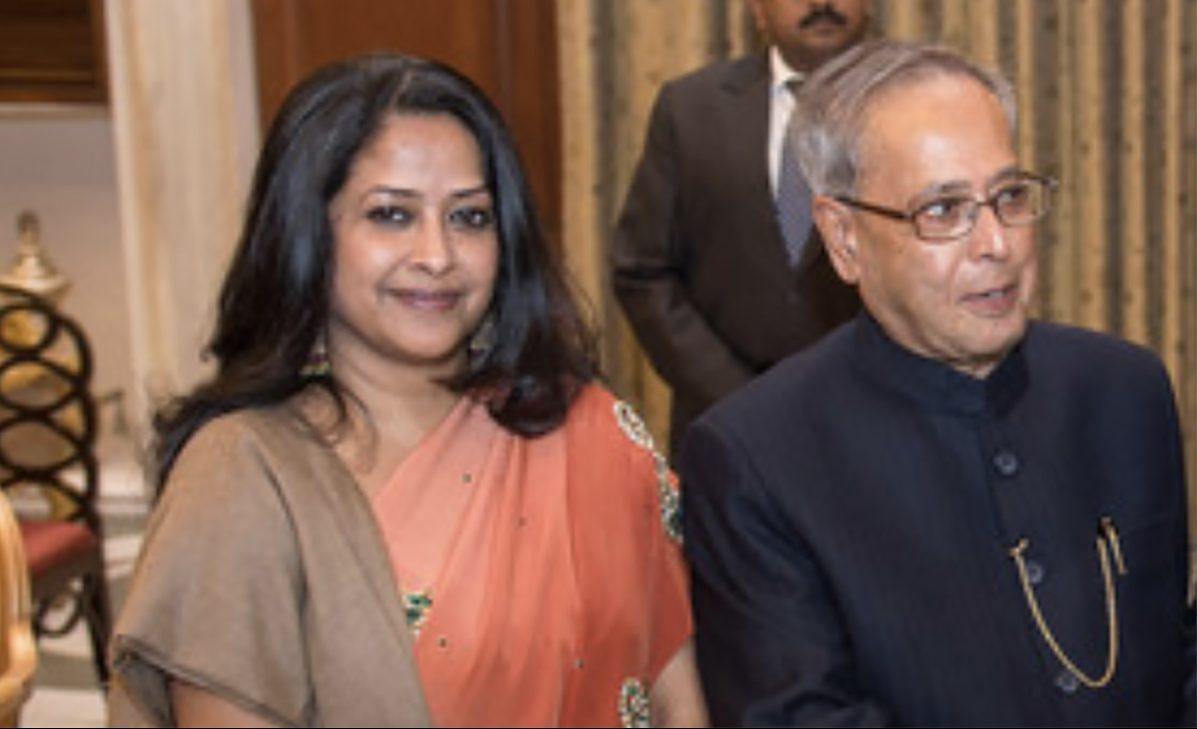Pranab Mukherjee's daughter Sharmishtha