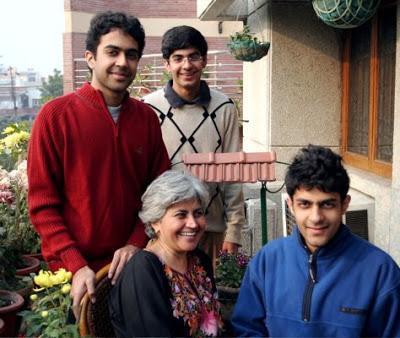 Prashant-Bhushans-wife-with-thier-children