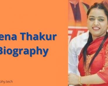Reena Thakur Biography