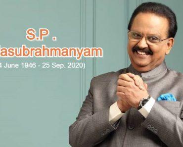 S.P. Balasubrahmanyam