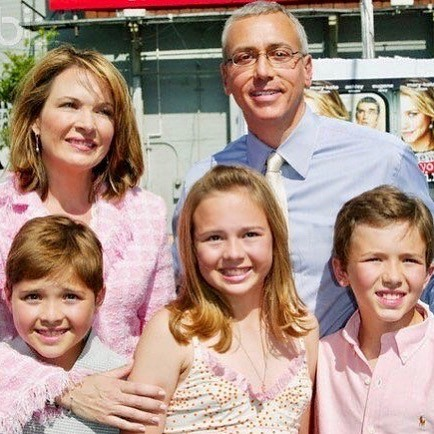 Susan Pinsky with Husband and Childrens
