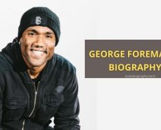 Life history of fighter monk George Foreman Iii