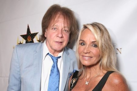 Eddie Money with Wife Laurie Money
