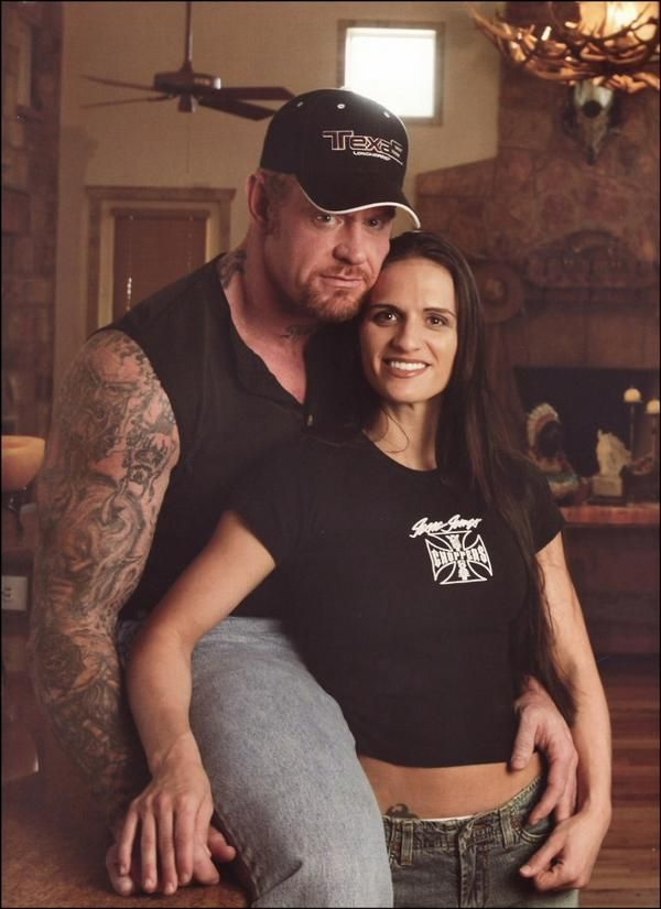 Sara Calaway and Undertaker