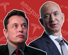 Jeff Bezos vs Elon Musk