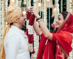 Dia Mirza and businessman Vaibhav Rekhi get married