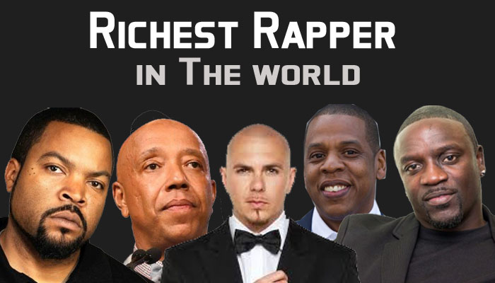 Richest Rapper With the Highest Net Worth in The world