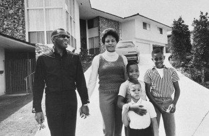 Della Beatrice Howard Robinson and Ray Charles